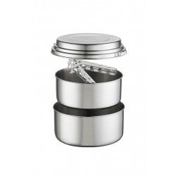 MSR Alpine 2 Pot Set Yemek Seti Gümüş